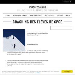 Coaching des élèves de CPGE