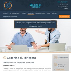 Coaching du dirigeant