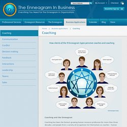 Coaching - The Enneagram in Business