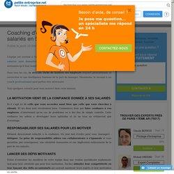 Coaching d´entreprise : Motiver ses salariés en 5 points