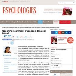 Coaching : comment s'épanouir dans son travail : Communiquer, exprimer ses émotions