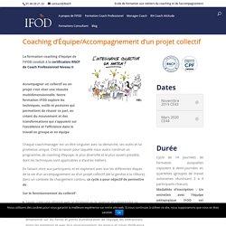 Coaching d'Équipe - IFOD - Ecole de Formation au Coaching