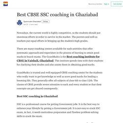 Best CBSE SSC coaching in Ghaziabad - Gyanmudra Ghaziabad - Medium