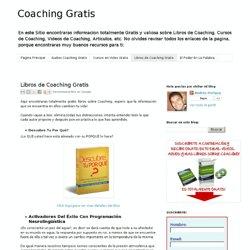 Libros de Coaching Gratis
