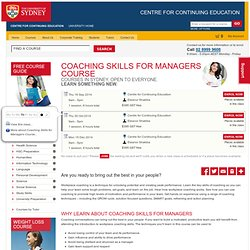 Coaching Skills for Managers Course - Courses Training Learn