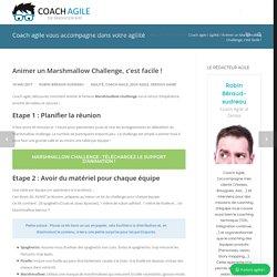 Coaching agile : Animer un Marshmallow Challenge, c'est facile !