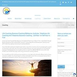 Business Coaching Melbourne - Australia