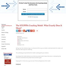 Coaching Models - STEPPPA