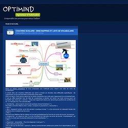 Coaching scolaire : Mind mapping et liste de vocabulaire