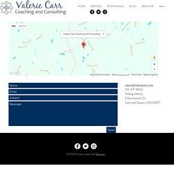 Contact To Improve Self-Esteem - Valerie Carr