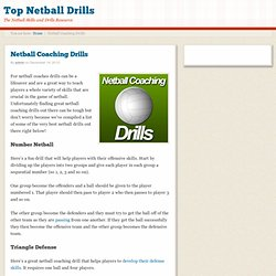 Netball Coaching Drills For Netball Coaches!