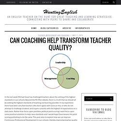 Can Coaching Help Transform Teacher Quality?