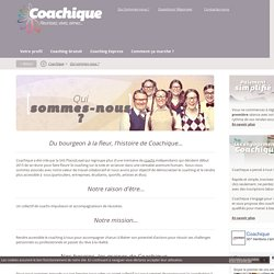 Coachique : Plateforme de coaching en ligne, coachs