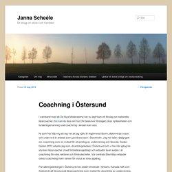 Coachning i Östersund