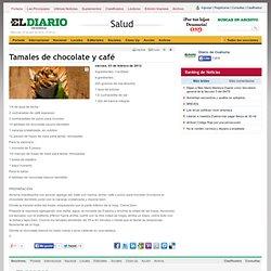 Tamales de chocolate y café