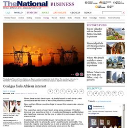 Coal gas fuels African interest