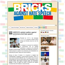 UNESCO's global coalition against extremisms and hate speech – BRICkS