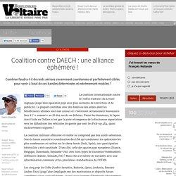 Coalition contre DAECH : une alliance éphémère !