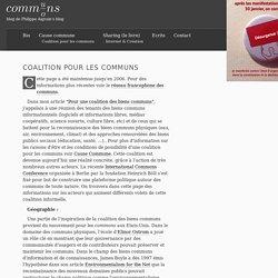 Coalition pour les communs