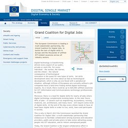 European Commission - Grand Coalition for Digital Jobs