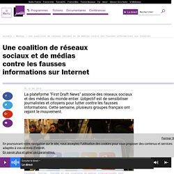 Une coalition de réseaux sociaux et de médias contre les fausses informations sur Internet