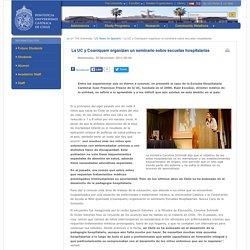 La UC y Coaniquem organizan un seminario sobre escuelas hospitalarias