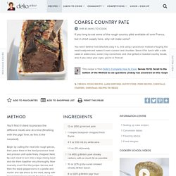 Coarse Country Pate
