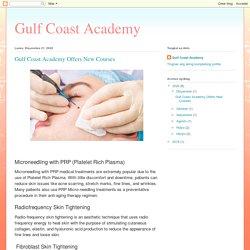 Gulf Coast Academy: Gulf Coast Academy Offers New Courses