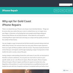 Why opt for Gold Coast iPhone Repairs – iPhone Repair
