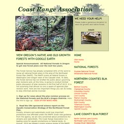 Coast Range Association