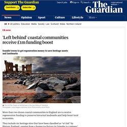 'Left behind' coastal communities receive £1m funding boost