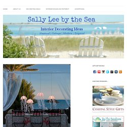 DIY Coastal Craft Project: Jellyfish Lights - Sally Lee by the Sea
