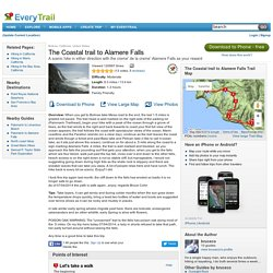 The Coastal trail to Alamere Falls