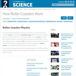 Roller Coaster Physics - How Roller Coasters Work
