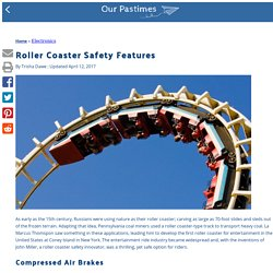 Roller Coaster Safety Features