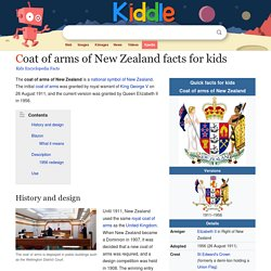 Coat of arms of New Zealand Facts for Kids