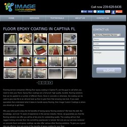 Decorative concrete Captiva