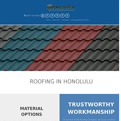 Roof Coating Services in Hawaii