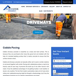 Enhancing Your Garden with Cobble Paving Driveway