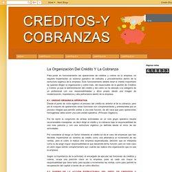 La Organización Del Crédito Y La Cobranza
