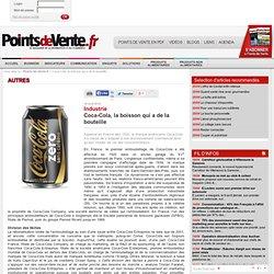 Coca-Cola, la boisson qui a de la bouteille