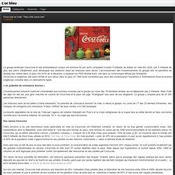 """Coca-cola en Inde: """"l'eau côté coca-cola"""" : L'or bleu"""