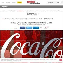 Coca-Cola ouvre sa première usine à Gaza