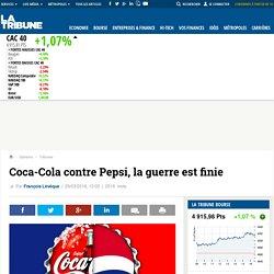 Coca-Cola contre Pepsi, la guerre est finie