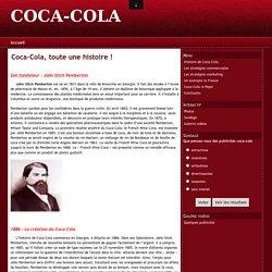 Coca-Cola, toute une histoire !
