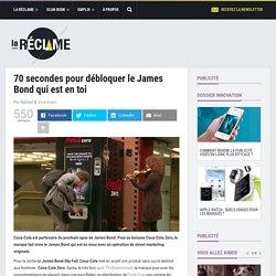 Pub Coca-Cola Zero James Bond 2012 (Skyfall)