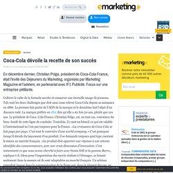 Coca-Cola dévoile la recette de son succès