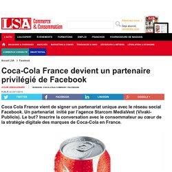 Coca-Cola France devient un partenaire...