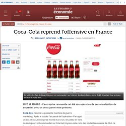 Coca-Cola reprend l'offensive en France