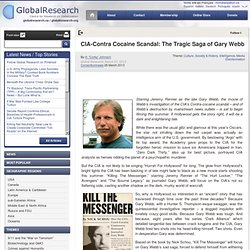CIA-Contra Cocaine Scandal: The Tragic Saga of Gary Webb